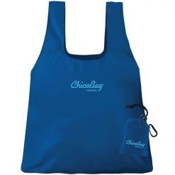 chicobag reusable shopping bag blue