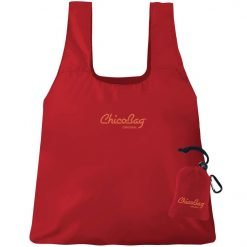 chicobag reusable shopping bag red