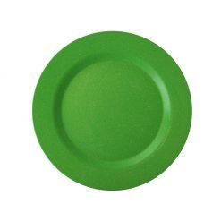 ecosoulife bamboo side plate green